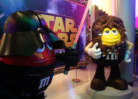 What brand hasn't attached itself to the new Star Wars film? - MARK ROBERT MILAN/GETTY IMAGES