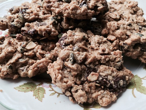 Stoner cookies from Dinner at Home by JeanMarie Brownson - MIKE SULA