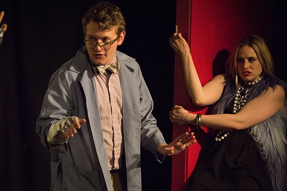 Zack Mast and Molly Miller in Ask Your Doctor: A Pharmaceutical Musical