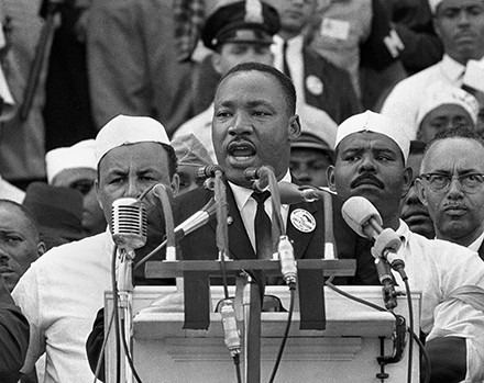 MLK's iconic speech resonates with the contemporary Chicago condition. - AP PHOTO/FILE