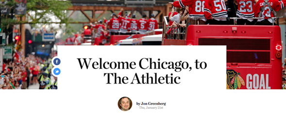 THE ATHLETIC CHICAGO