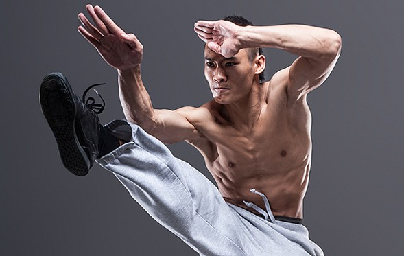 From Jackie Chan's Long Yun Kung Fu troupe, 11 Warriors combines martial arts and dance. - GETTY IMAGES