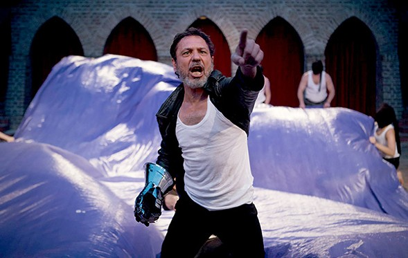 Aleh Sidorchyk in Belarus Free Theater's King Lear at Chicago Shakespeare Theater - NICOLAI KHALEZIN