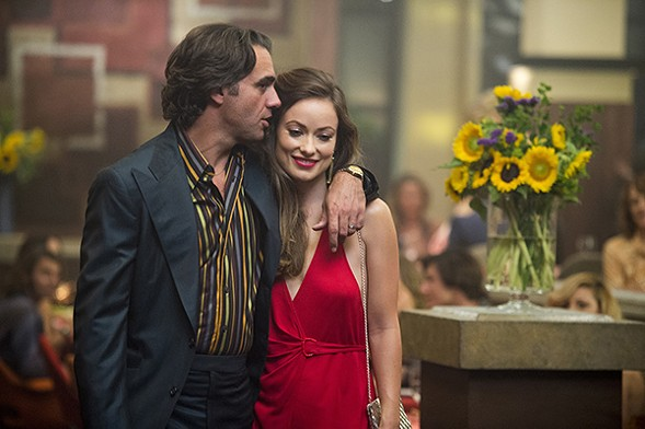 Bobby Cannavale and Oliva Wilde in Vinyl - HBO
