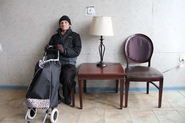 """Lugo resident Charles DeRolf, 58, has been living on disability payments since being hit by a truck a decade ago. """"I'd like to stay here,"""" he says. """"I feel like it's home."""" - KARI LYDERSEN"""