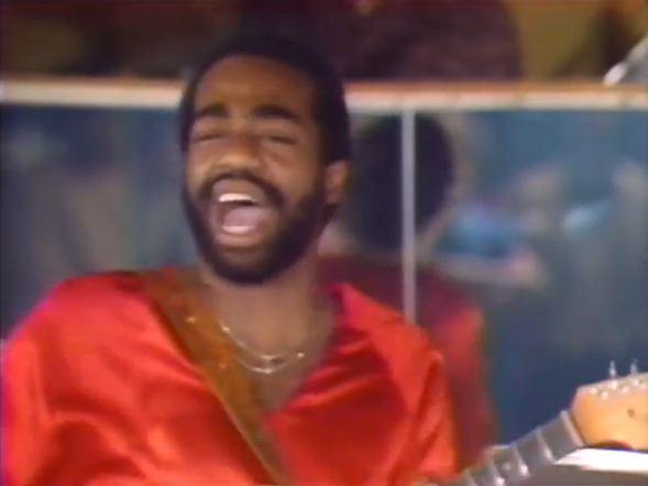 Andre Gibson performing with Universal Togetherness Band on The Chicago Party - COURTESY THE NUMERO GROUP