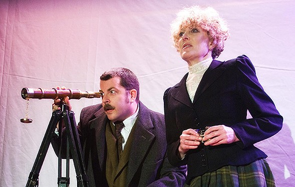 Idle Muse's The Hound of the Baskervilles, at EDGE Theatre - STEVEN TOWNSHEND