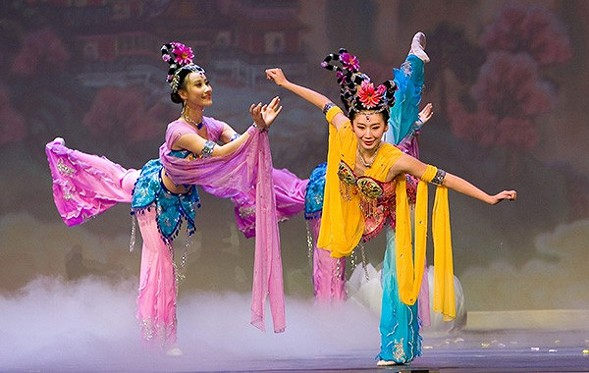 Shen Yun performs at the Civic Opera House on Tue 3/15. - SUN-TIMES MEDIA