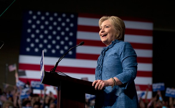 Emanuel endorsed Hillary Clinton. But you didn't hear her bragging. - AP PHOTO/CAROLYN KASTER