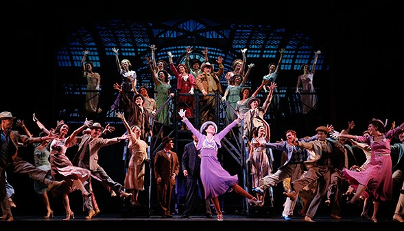 The troupers and hoofers of 42nd Street - CHRIS BENNION