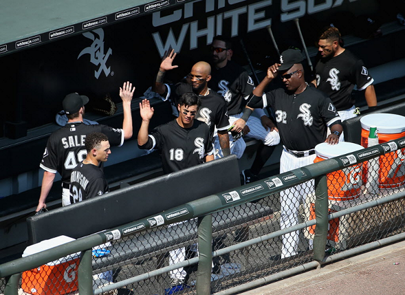 Trouble in the White Sox clubhouse? - JONATHAN DANIEL/GETTY IMAGES
