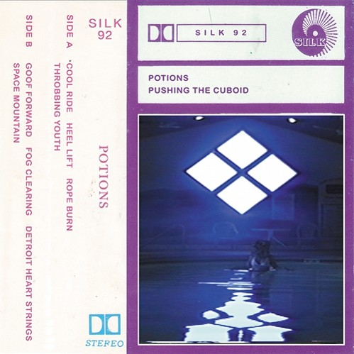 Potions, aka Pretty All Right label founder Tom Owens, releases a new tape today. - COURTESY THE ARTIST
