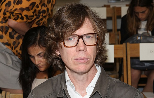 Thurston Moore talks with WBEZ's Tony Sarabia on Wed 3/23 at the Old Town School of Folk Music. - GETTY