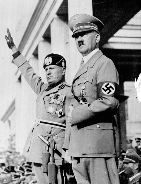 You could say Hitler lost the Battle of the Bulge twice. - SUN-TIMES FILE PHOTO
