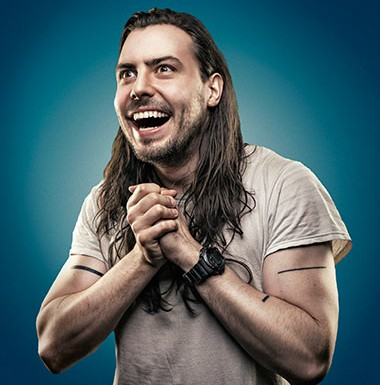 Andrew W.K. is the master of ceremonies at the Chicago Pizza Summit on Sunday, April 3. - JONATHAN THORPE
