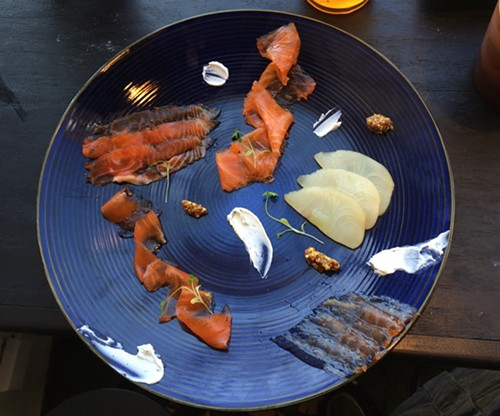 Cured fish tasting - MIKE SULA