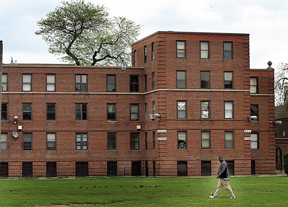 Lathrop Homes will be redeveloped. Will it also be a slush fund for the mayor? - JOE CYGANOWSKI/PIONEER PRESS