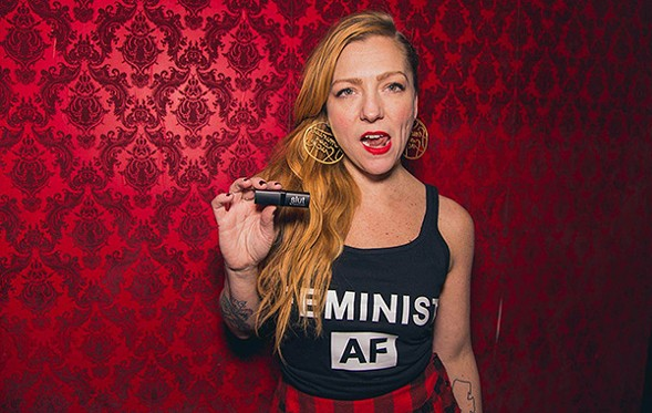 Alicia Swiz hosts Shout Your Abortion at the Whistler on Mon 4/18. - MISFIT29 STUDIOS