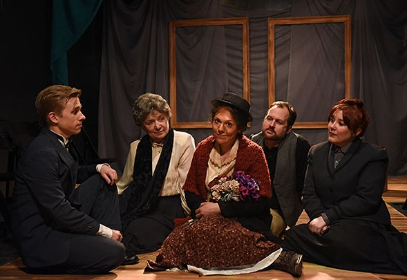 Rogue Theater's Pygmalion - SCOTT DRAY