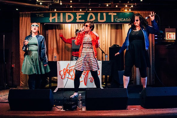 She's Crafty plays the Sadie Hawkin's Dance at the Hideout on Sun 4/24. - PATRICK BURKE