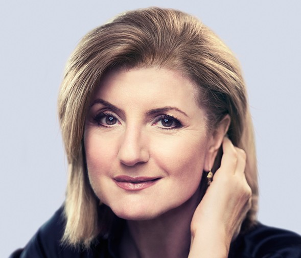 Arianna Huffington talks about her new book, The Sleep Revolution, on Thu 4/28 at Francis W. Parker School. - CARLOS SERRAO