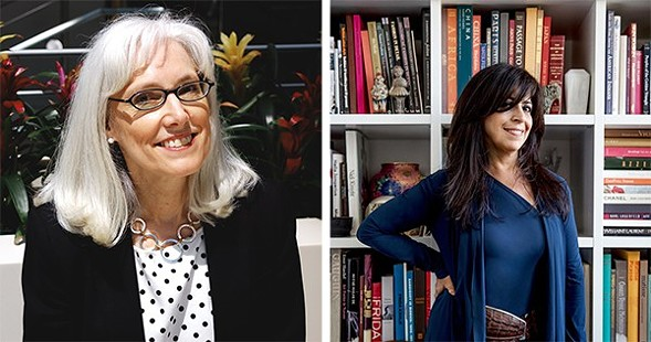Carol Saller and Maria Pinto talk style as part of the Chicago Humanities Festival on Sat 4/30. - COURTESY THE CHICAGO HUMANITIES FESTIVAL
