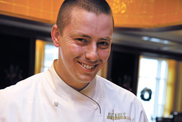 Curtis Duffy of Grace won Best Chef: Great Lakes at the 2016 James Beard Awards. - JULIA THIEL