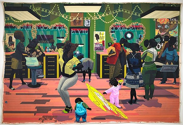 Kerry James Marshall, School of Beauty, School of Culture (2012) - SEAN PATHASEMA / MCA