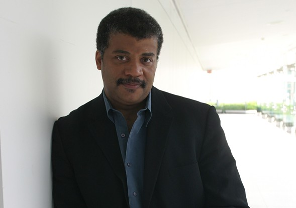 Neil deGrasse Tyson talks cosmos and more at the Chicago Theatre on Tue 5/10. - CHRIS CASSIDY
