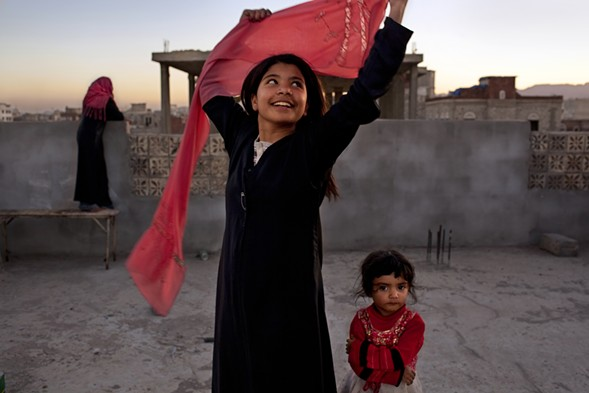 Nujood Ali stunned the world in 2008 by obtaining a divorce at age ten in Yemen, striking a blow against forced marriage. - STEPHANIE SINCLAIR/NATIONAL GEOGRAPHIC