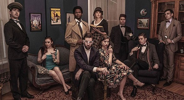 Clued In: An Improvised Murder Mystery, at Second City's Beat Lounge - TYLER DAVIS