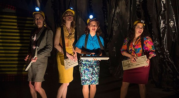About Face Theatre's The Secretaries, at Theater Wit - MICHAEL BROSILOW