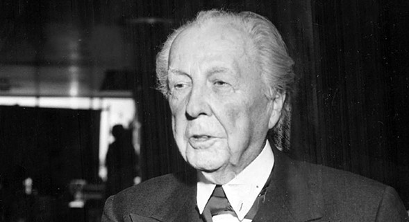 Frannk Lloyd Wright in 1979 - SUN-TIMES PRINT COLLECTION