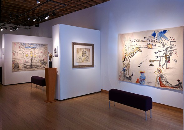 """Some selections from """"The Imaginative World of Dalí"""" - COURTESY ZYGMAN VOSS GALLERY"""