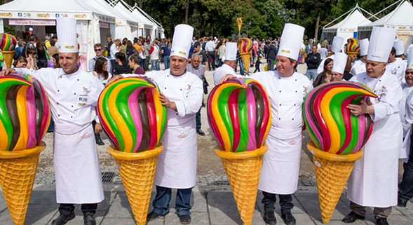 The Gelato World Tour serves Chicago all weekend. - DINO BUFFAGNI
