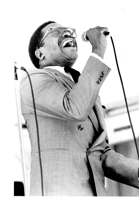 Otis Clay in 1988 - SUN-TIMES PRINT COLLECTION