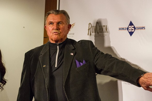 Mike Ditka - VINCENT D. JOHNSON/FOR SUN-TIMES MEDIA