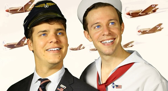 Nick & Gabe: American Champions - COURTESY SECOND CITY