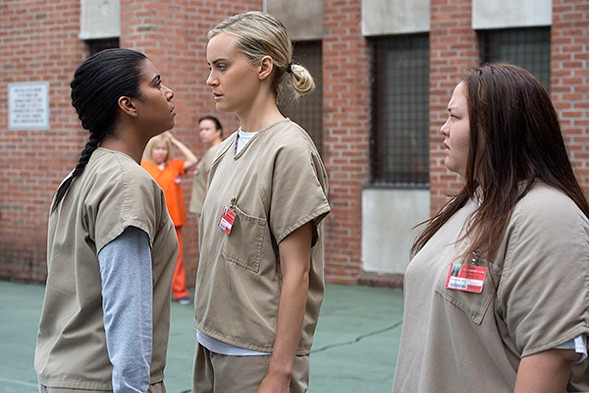 In OITNB's new season Litchfield Penitentiary becomes overcrowded in more ways than one. - JOJO/WHILDEN