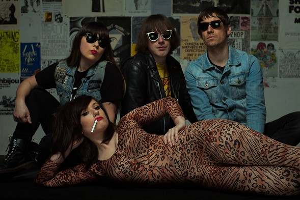 High Waisted performs at Subterranean on Tue 7/5. - COURTESY OF THE ARTIST