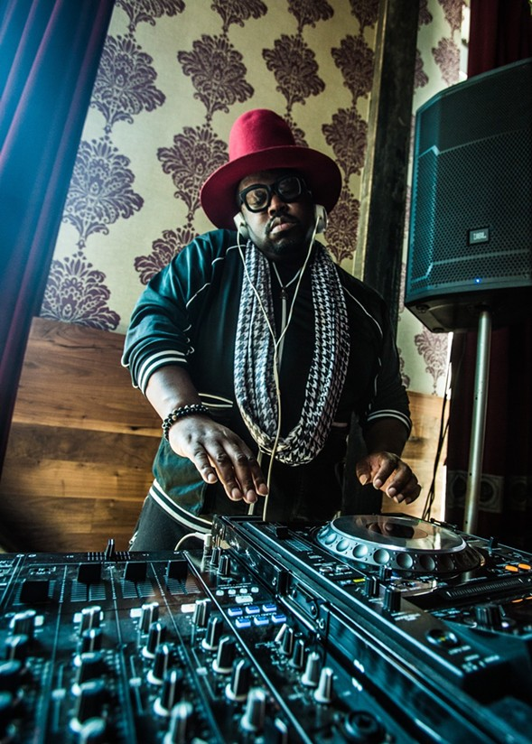 DJ Duane Powell at the Promontory - CHRISTOPHER ANDREW
