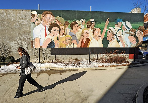 A Controversial Elgin Mural Is Stranded Between Censorship
