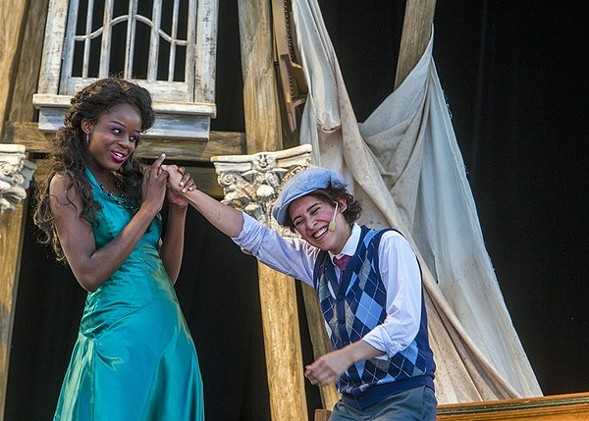 Chicago Shakespeare Theater's traveling Twelfth Night - CHUCK OSGOOD