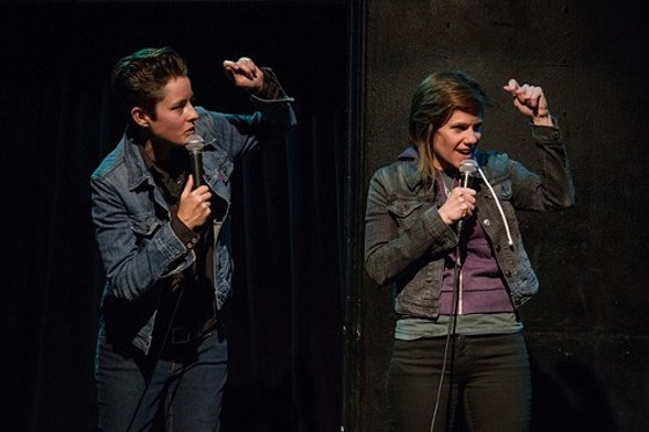Rhea Butcher and Cameron Esposito premiere their new show Take My Wife at the Comedy Exposition on Sat 7/23. - MEGAN BAKER