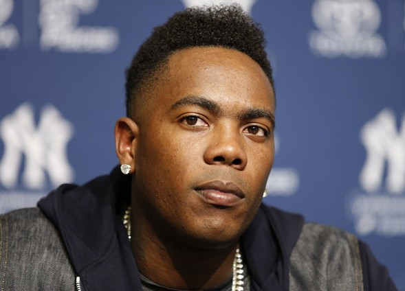 The Chicago Cubs acquired hard-throwing reliever Aroldis Chapman in a trade with the Yankees on Monday. - AP PHOTO/KATHY WILLENS, FILE
