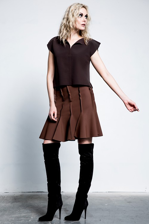 """Prefall pieces by Maria Pinto inspired by the """"square"""" - PHOTO COURTESY OF M2057 BY MARIA PINTO"""