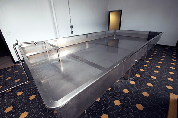Dovetail's coolship - COURTESY DOVETAIL BREWERY