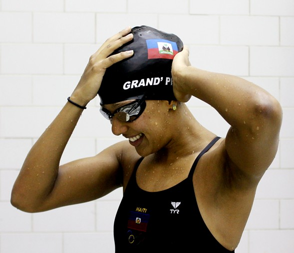 Naomy Grand'Pierre gears up to represent Haiti in the Rio Olympics. - COURTESY NAOMY GRAND'PIERRE