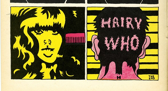 Page by Karl Wirsum from The Portable Hairy Who. - COURTESY OF PENTIMENTI PRODUCTIONS