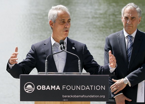 Mayor Rahm Emanuel - AP PHOTO/TAE-GYUN KIM